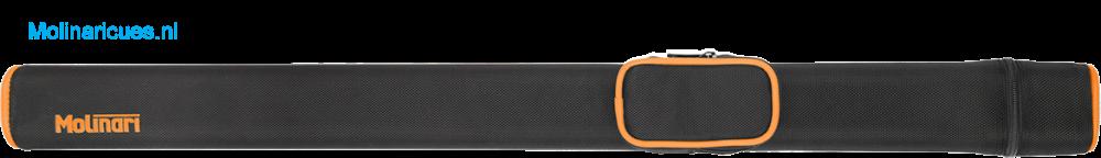 NIEUW Molinari keukoker voor 1 butt en 1 shaft - Zwart-Oranje