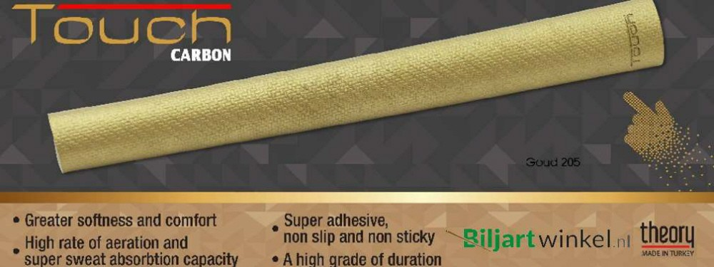 Touch Grip Carbon Gold 205