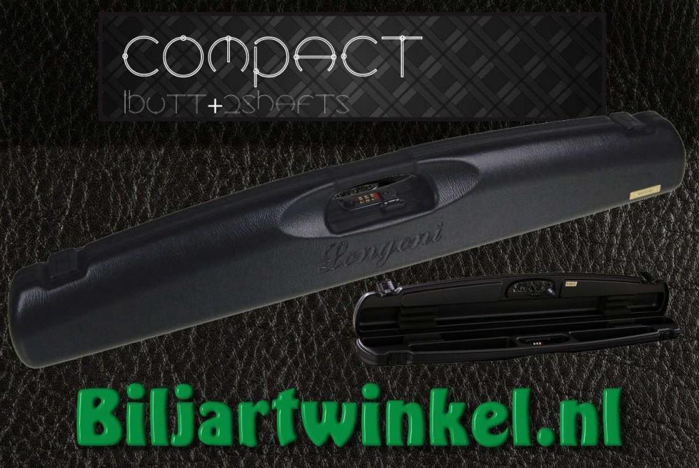 1/2 Longoni Compact Zwart ABS met leer