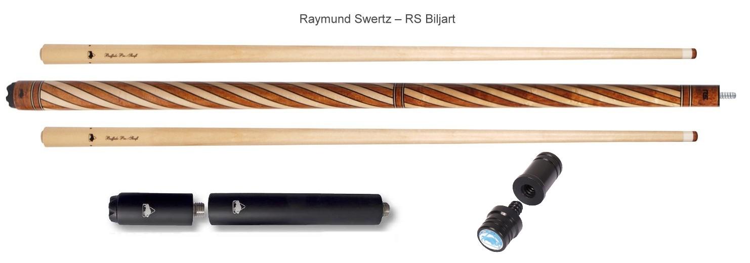 Buffalo biljartkeu Raymond Swertz 1 butt 2 shaft radial joint