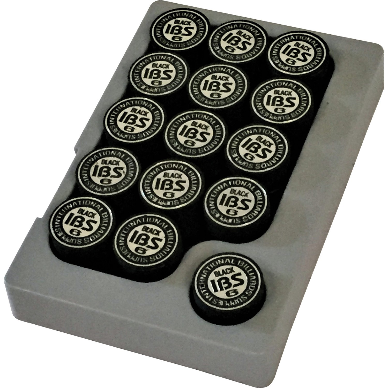 IBS pomerans 14 mm zwart 30 stuks