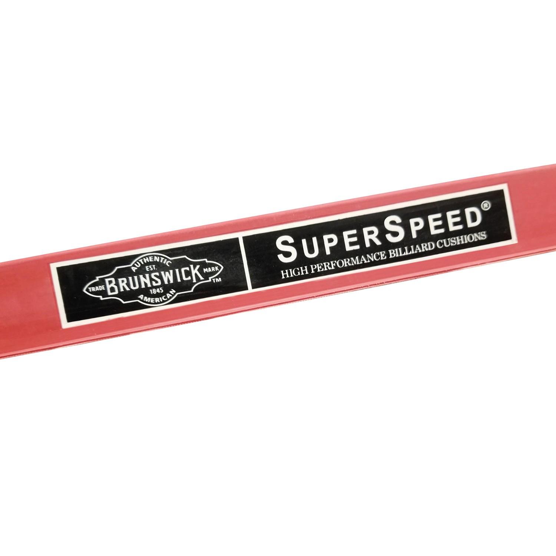 Brunswick Superspeed rubber cushion set 9FT