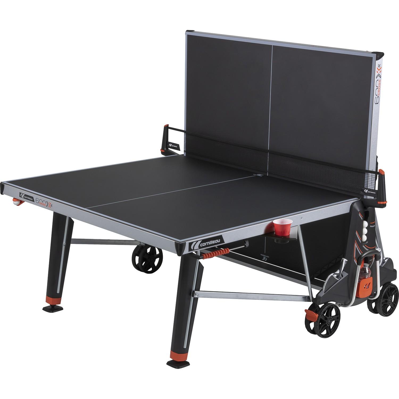 Cornilleau 600X outdoor tafeltennistafel zwart