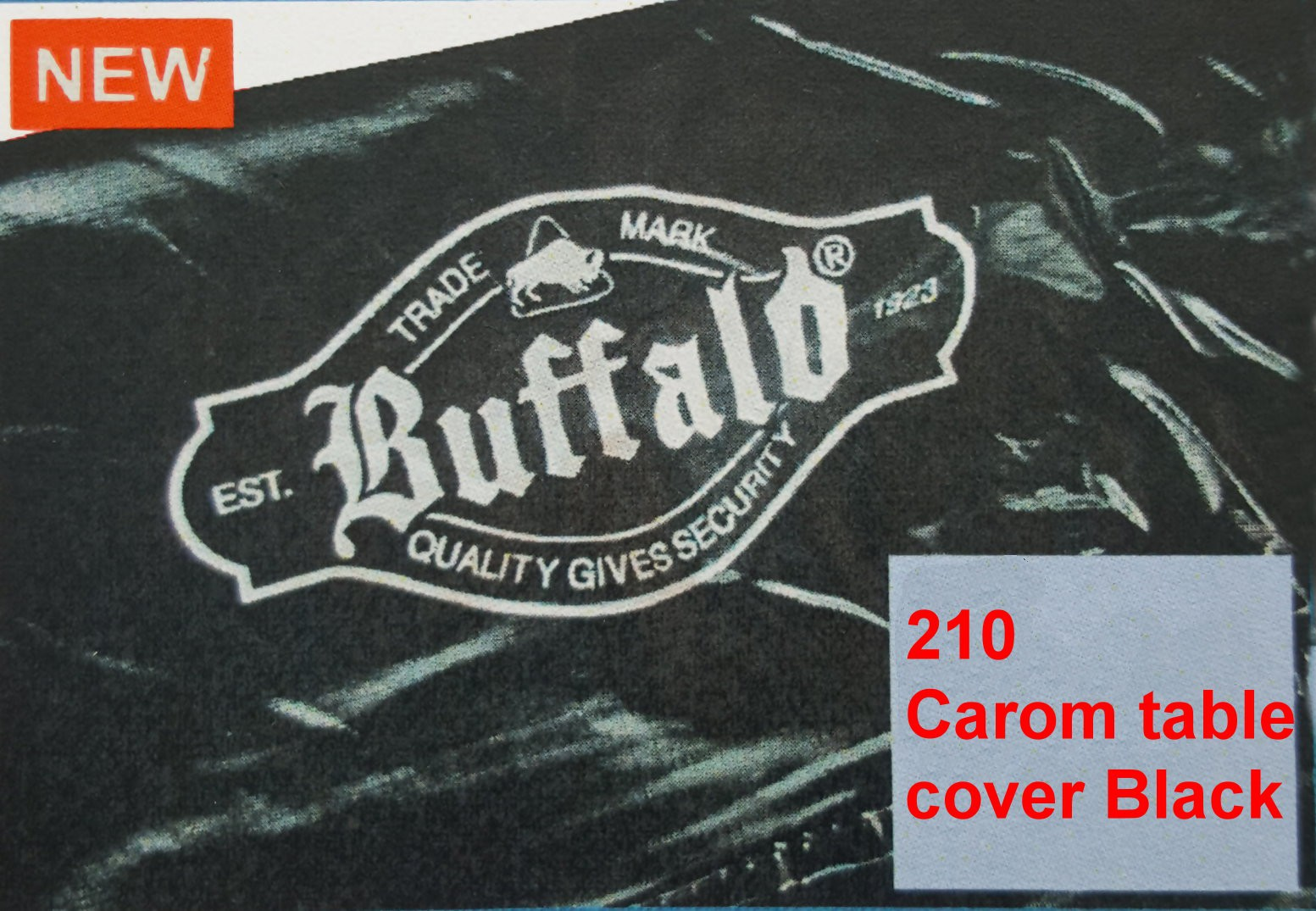 210 Carom table cover black