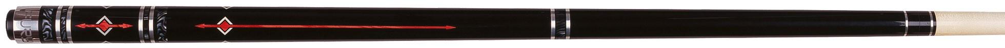 Fury FSS-5 Poolkeu Rood inclusief jointprotectors en keuhoes