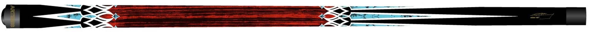 Artemis keu Mister 100 model redwood 4 punts blauw