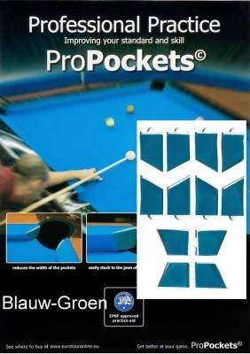 Pro Pockets Reducers, blauw-groen