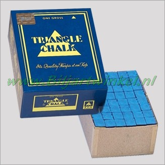 Triangle Krijt Blauw 144 stuks