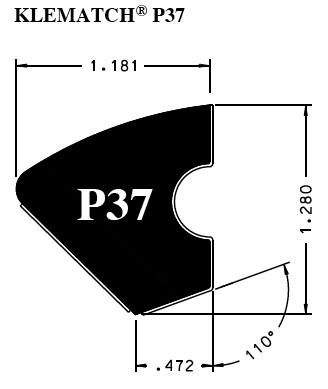ubberband Kleber Klematch P37 - 2.30 meter