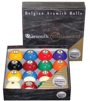 Aramith Tournament US Tournament Poolballen 57.2mm DURAMITH