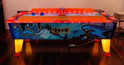 Airhockeytafel Shark 8FT Outdoor huren