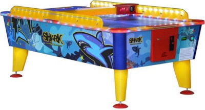 6FT Airhockey Shark waterproof met muntinworp