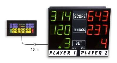 HUUR Favero electronisch dart scorebord