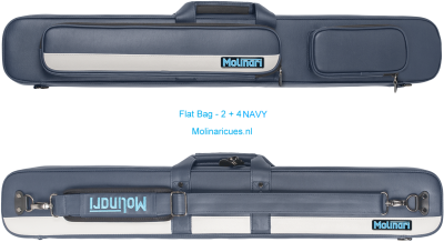 Molinari Flat Bag - 2 + 4 Navy