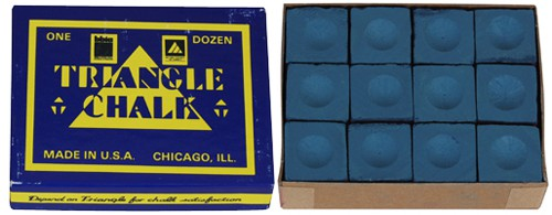 Triangle Krijt Blauw 12 stuks