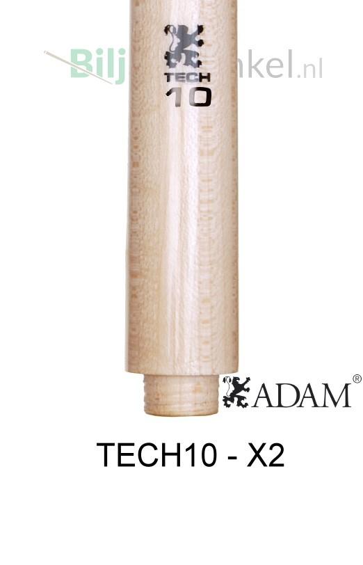 Adam TECH10 Laminated Shaft - X2 double joint sluiting