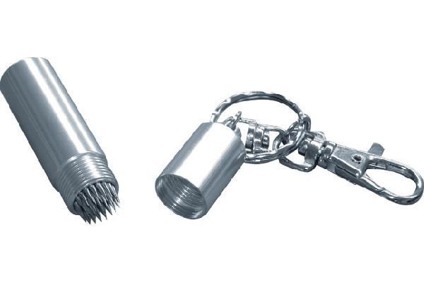 Hedgehog silver sleutelhanger