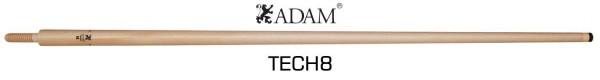 Adam TECH8 Laminated shaft - Wood joint - 12mm 68cm
