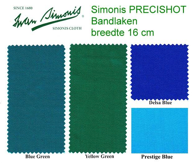 PreciShot bandlaken Simonis 16cm breed