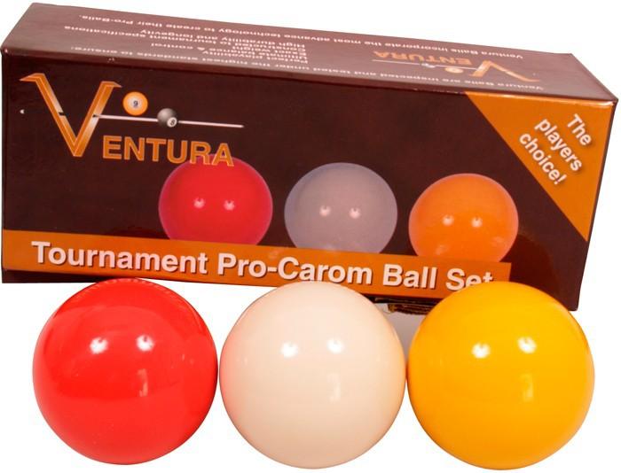Ventura Tournament A1 Caramboleballen set 61.5mm