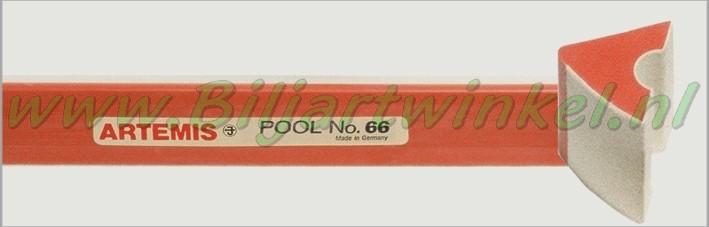 Bandrubber pool Artemis no.66 voor 9FT Pool