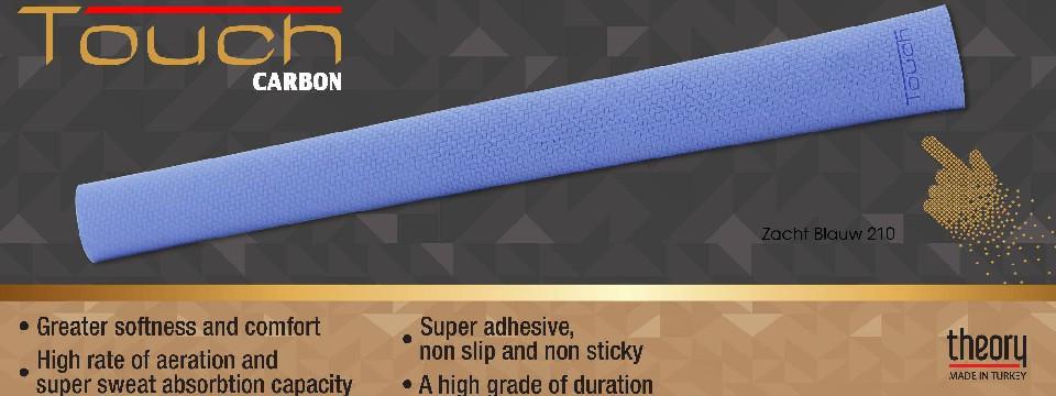 Touch Grip Carbon Soft Blue 210