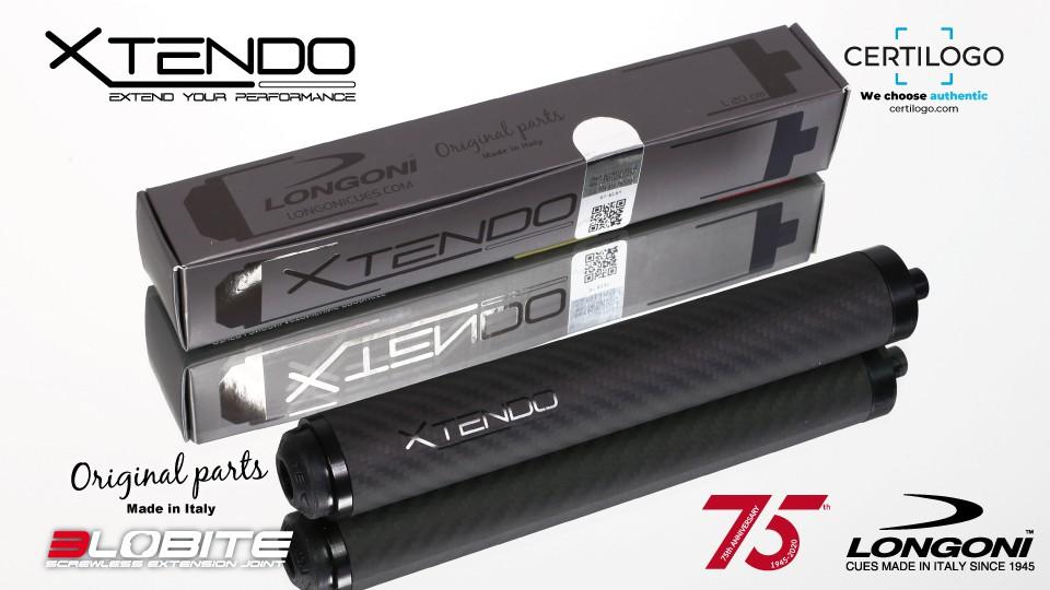 20cm Longoni 3-Lobite XTENDO CARBON