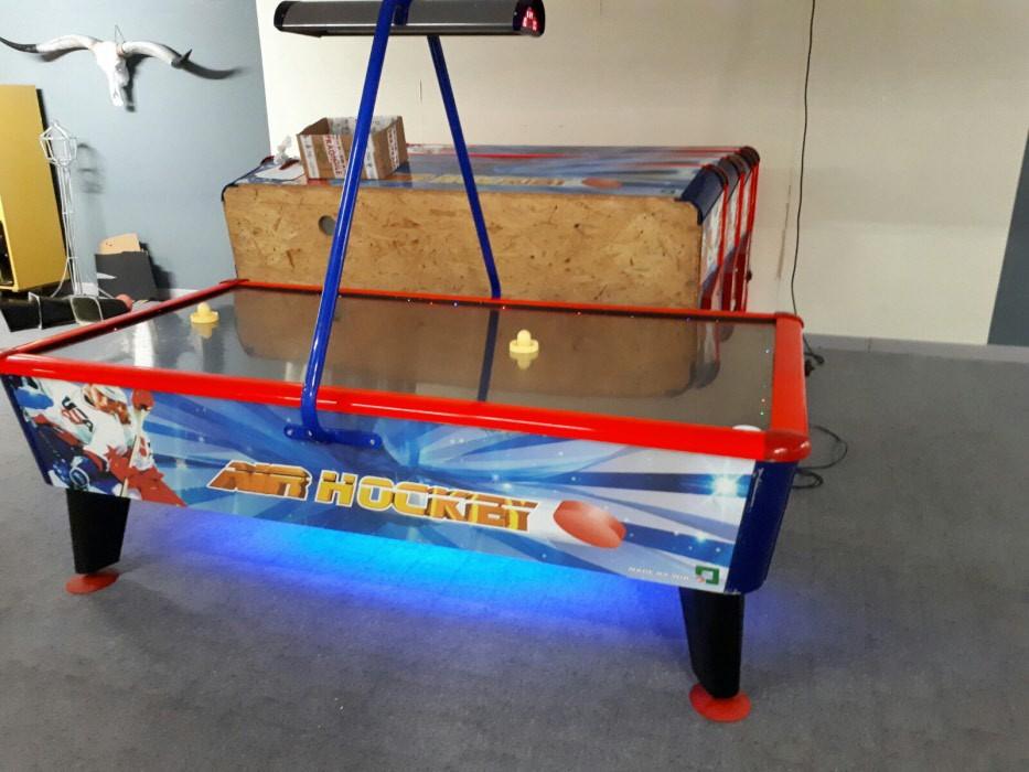 Airhockey Tafel Klein : Ft airhockey tafel wik gold occassion nog op voorraad