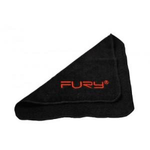 Handdoekje Fury. Zwart keu doekje