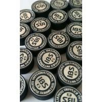 230155 ibs black laminated gelaagde pomerans