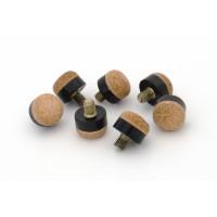 12mm Laperti Schroefpomerans Bruin M3/16 Brass