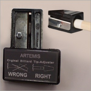 Artemis puntenslijper, pomeranscorrector