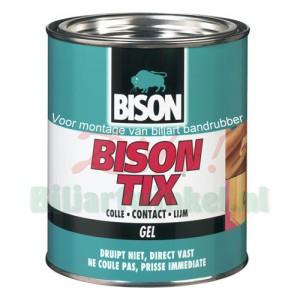 Bison Tix Gel, lijm voor biljartrubber