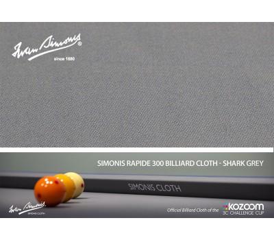 Simonis 300-195 Rapide shark grey