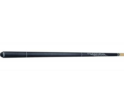 Maxton Reaper poolkeu zwart 145cm/13mm