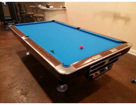 Brunswick Gold Crown pooltafel mahonie 9ft - Occasion - Marge