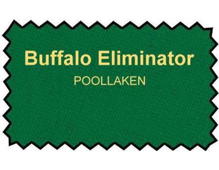 Buffalo Eliminator poollaken 165cm geel/groen