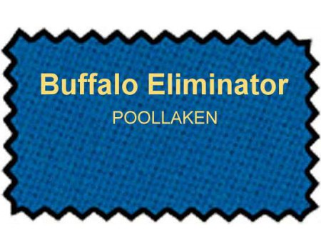 Buffalo Eliminator poollaken 165cm electric blue