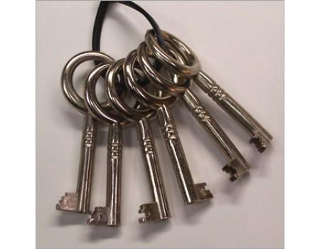 Set sleutels voor klokken D&K