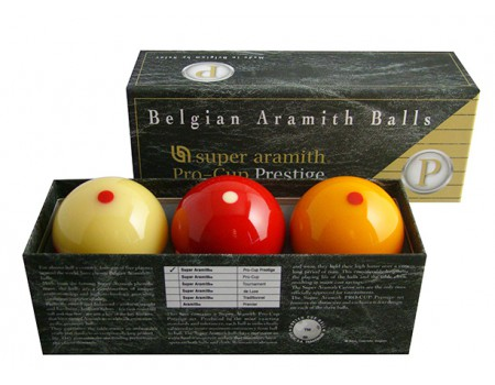 Aramith Pro-Cup Prestige biljartballen