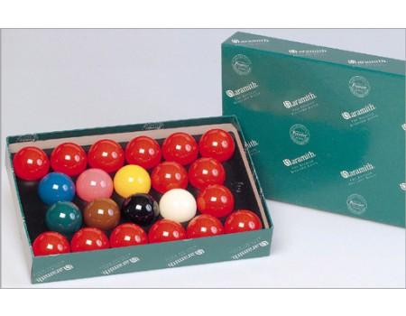 Aramith Snookerballen SET diverse maten
