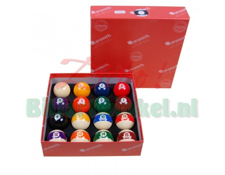 Poolballen set Aramith Continental