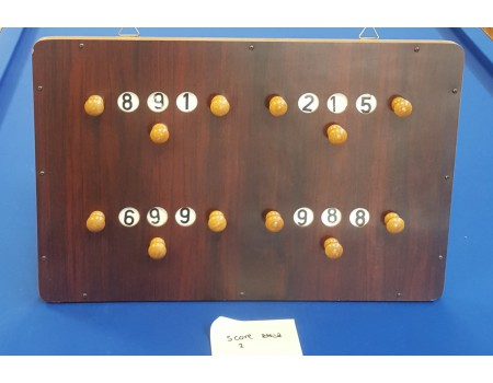 Gebruikt scorebord pallisander nr2 - Margeprijs