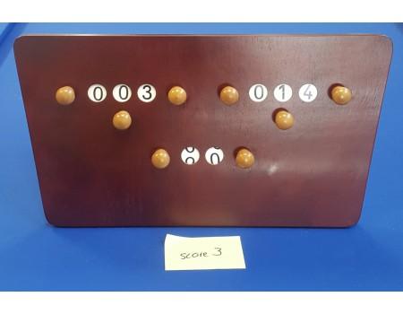 Gebruikt scorebord pallisander nr3 - Margeprijs