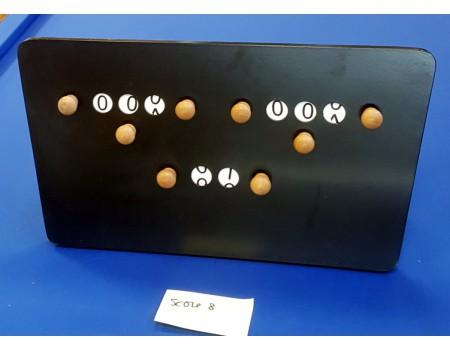 Gebruikt scorebord zwart nr8 - Margeprijs