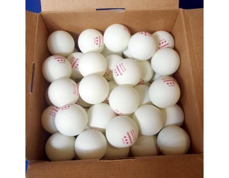 120 stuks Heemskerk 3* tafeltennis ballen