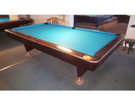 NR7 Clash Competition II pooltafel Kersen/brons 9ft - Occasion - Marge