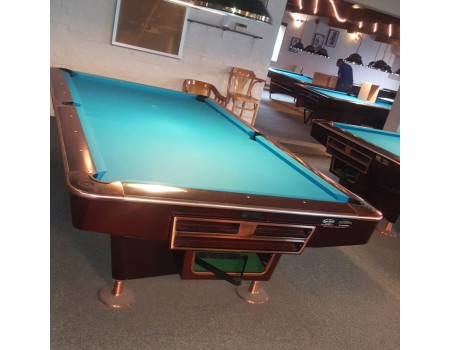 NR9 Clash Competition II pooltafel Kersen/brons 9ft - Occasion - Marge
