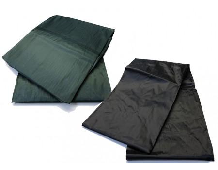 afdekzeil snooker 12ft groen nylon