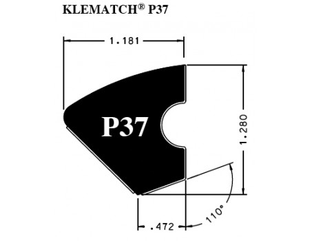 rubberband Kleber Klematch P37 - 2.85 meter